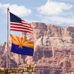 Flag USA and New Mexico