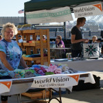 World Vision charity booth