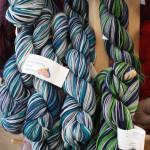 Claudia Handpaints Mariner & Seahawk colorways